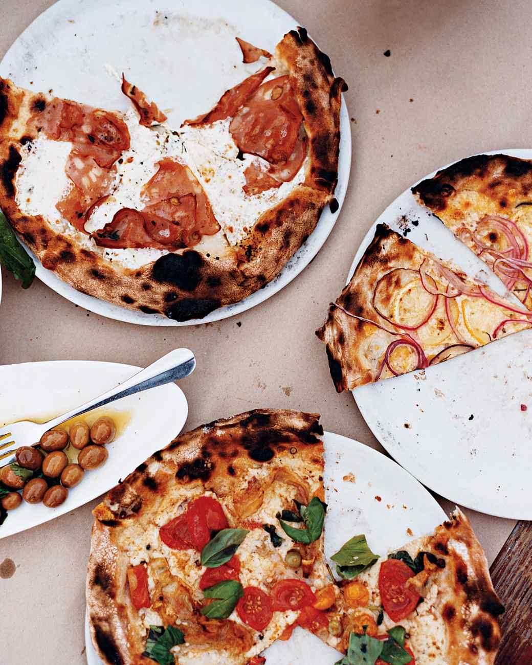 pizza party food